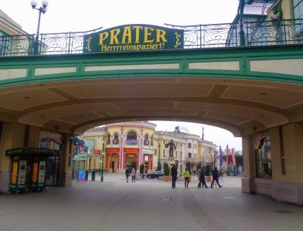 Eingang Prater