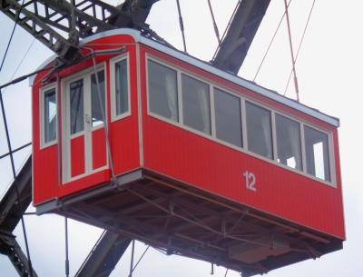Einzelner Wagon von Riesenrad Wien
