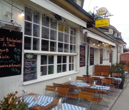 Gaststätte Eiserne Zeit Naschmarkt Wien